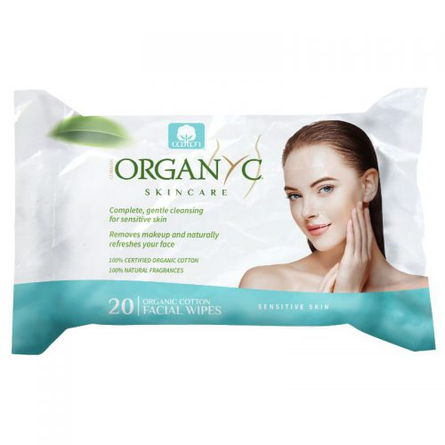 Organic Cotton Facial Cleansing Wipes