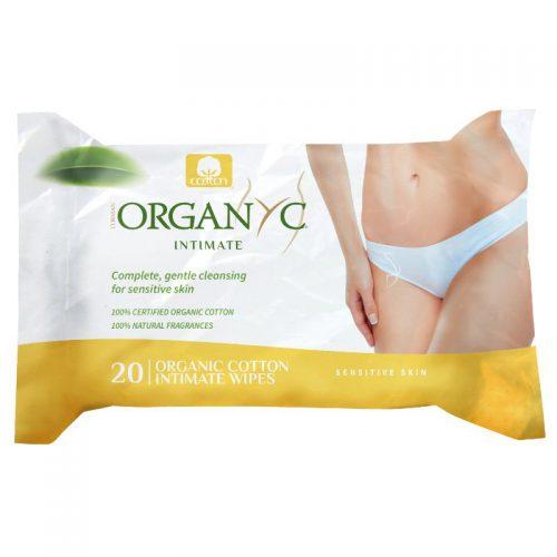 Organic Feminine Wipes